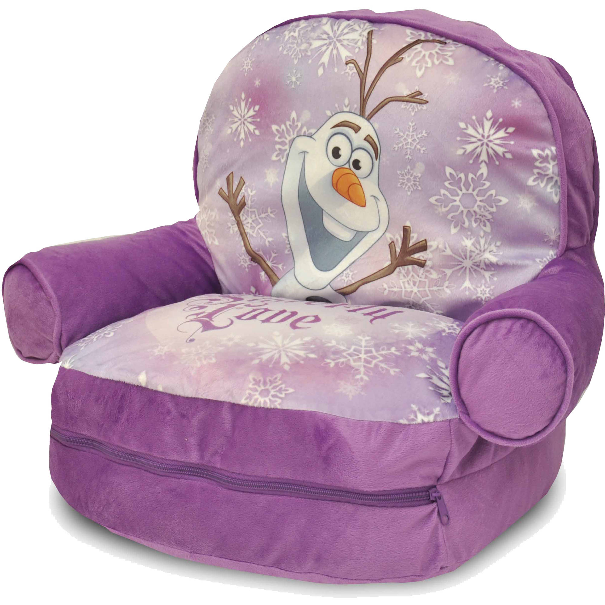tween flip sofa sofas with loose back cushions slipcover frozen kid sit and sleep disney thesofa