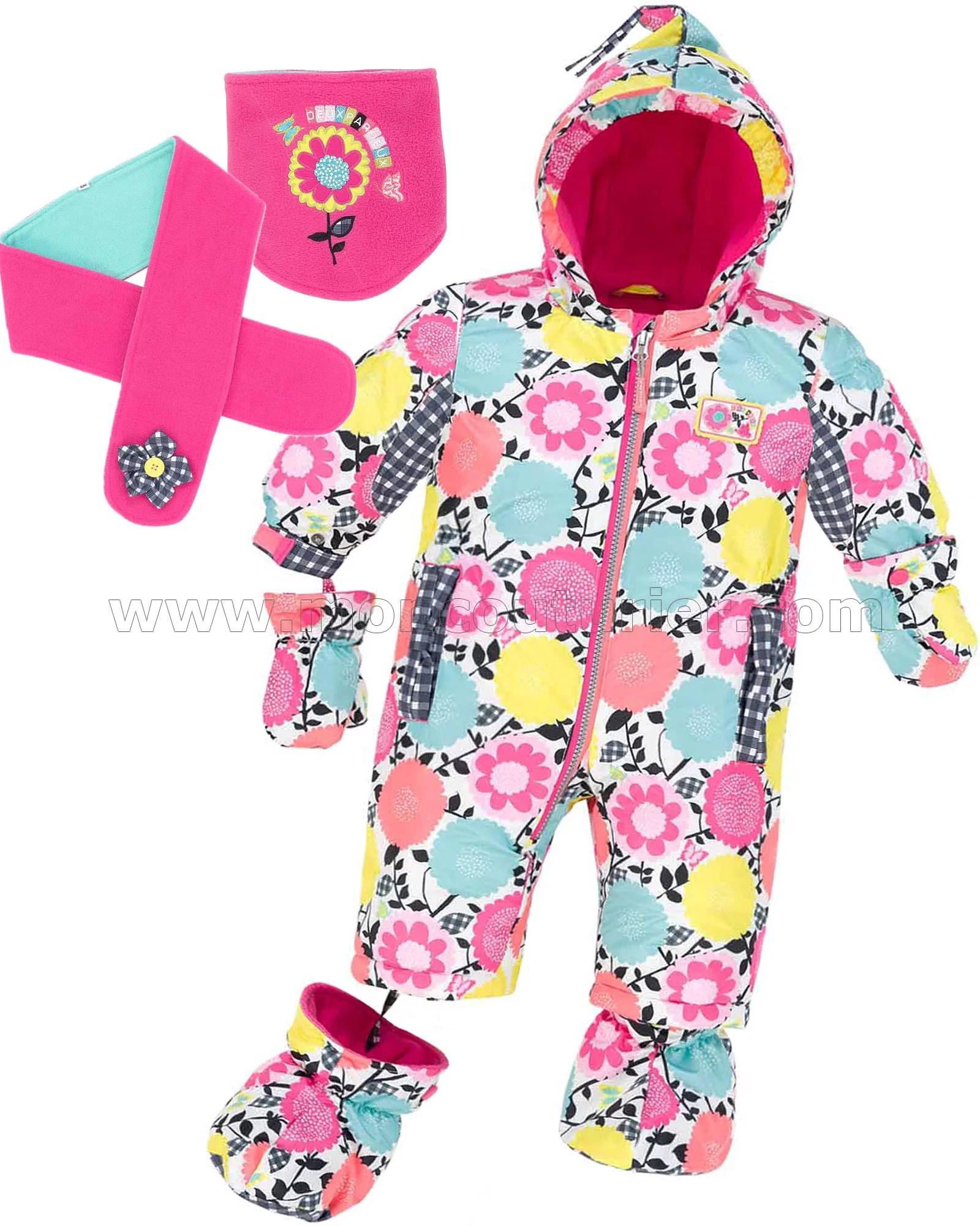 027e2861e3ae4 Canadiana Infant Pram Suit | Red 1 Ltd