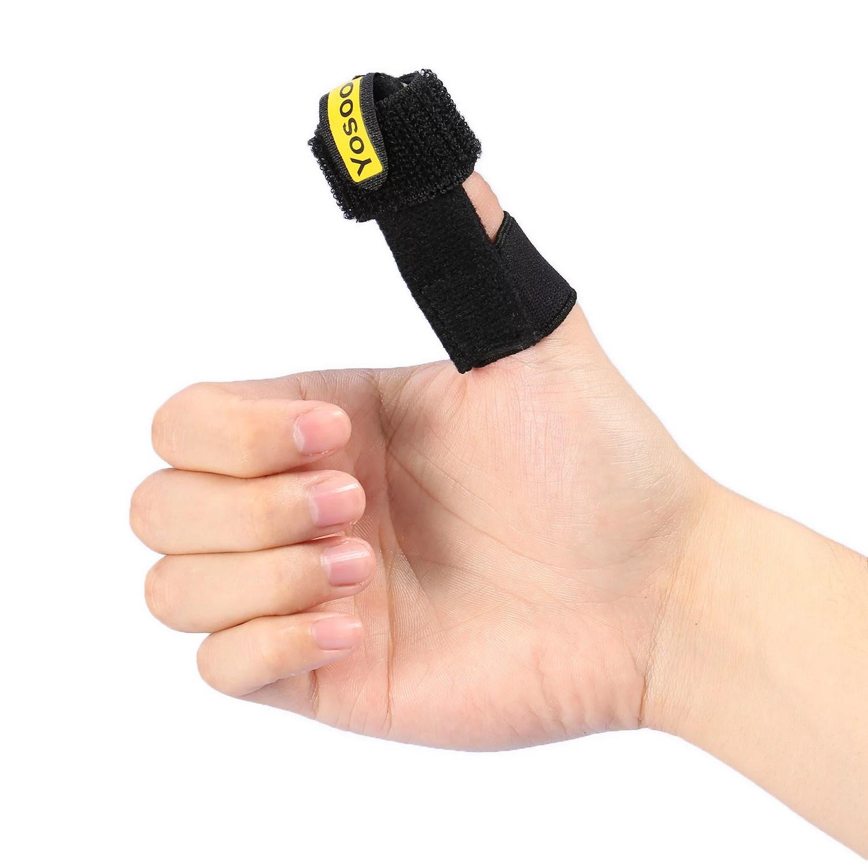 YLSHRF Trigger Finger Splint Thumb Support Protector ...