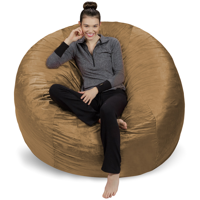 6 foot bean bag chair good posture reading sofa sack giant ft multiple colors walmart com