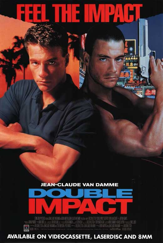 Double Impact – movie POSTER (Style B) (11″ x 17″) (1991)