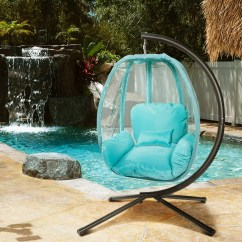 Hanging Patio Chair Upholstered Swivel Chairs Xtremepowerus Outdoor Egg Swing Hammock Seat W Departments