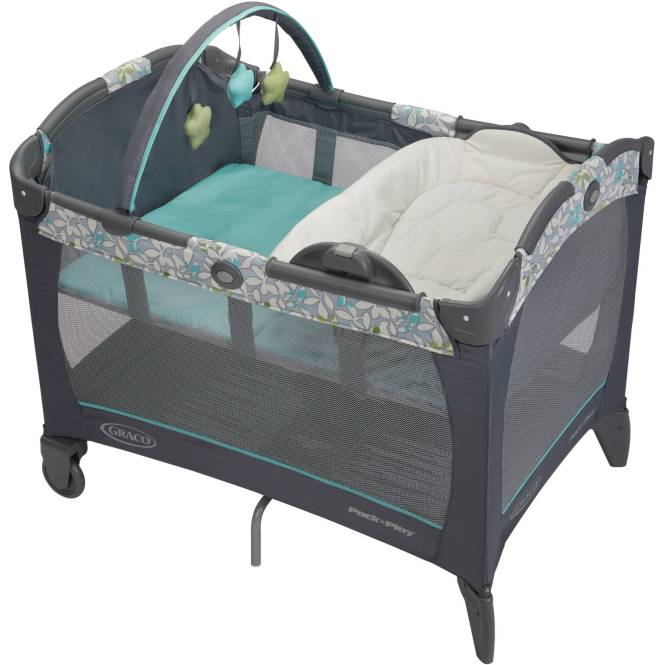 Graco Pack N Play Playard With Reversible Ner And Changer Harvest