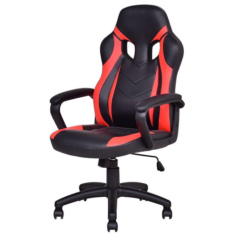 desk chair at walmart best reclining office gymax executive pu leather high back race gaming com