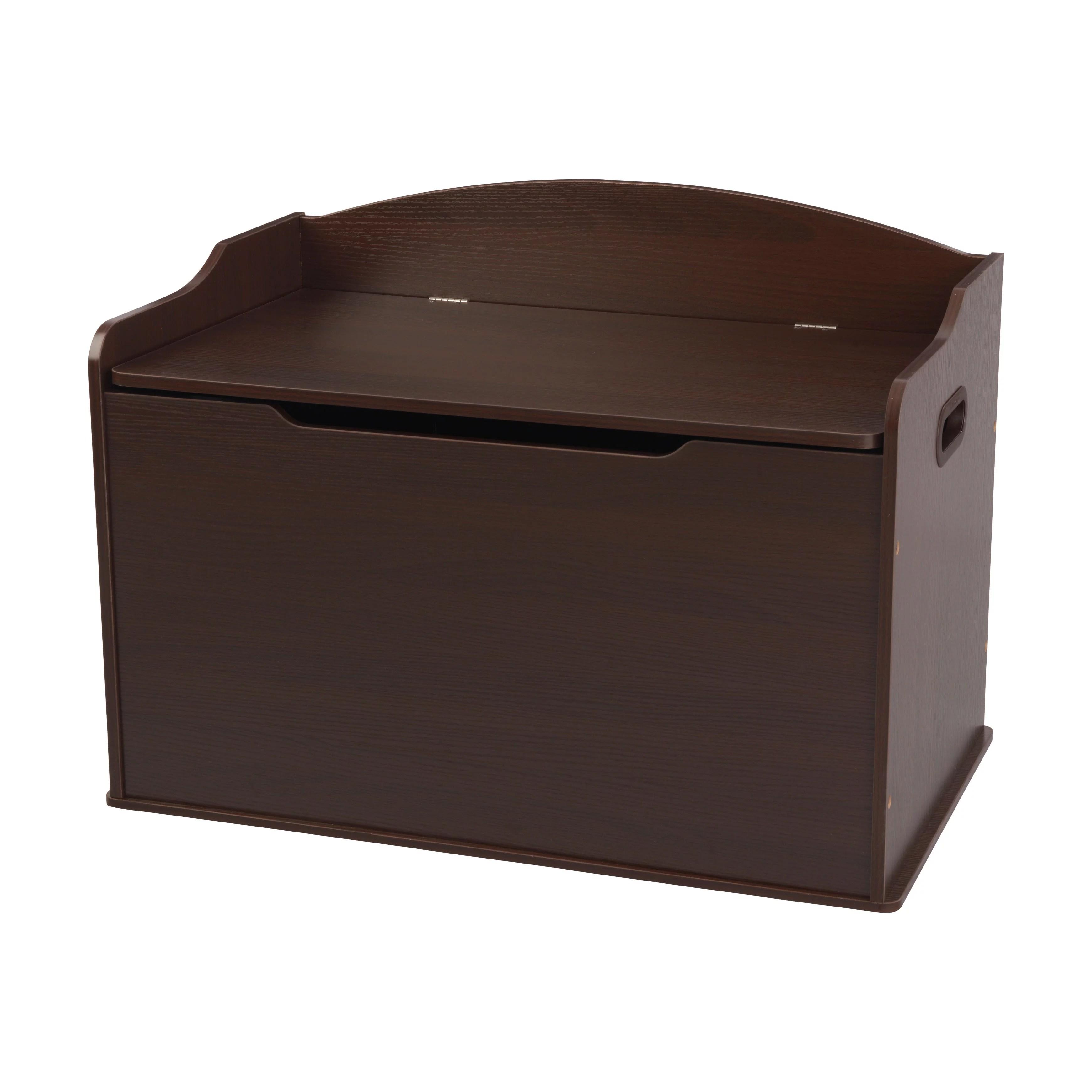 Kidkraft Austin Toy Box Espresso Walmart