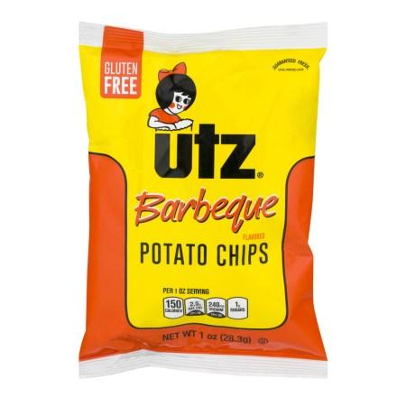 Utz Potato Chips Barbeque, 1.0 OZ
