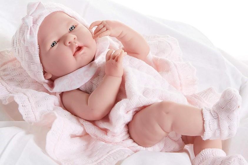 La Newborn All-Vinyl-Anatomically Correct Real Girl 15 ...