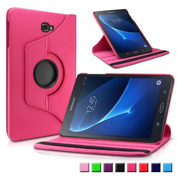 Infiland Samsung Galaxy Tab 10.1- Sm-t580 Sm-t585 Tablet Case 360 Degrees Rotating