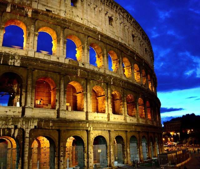 Laminated Poster Capital Ancient Rome Italy Ancient Colosseum Rome Poster Print