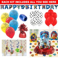 Paw Patrol Decoration Kit