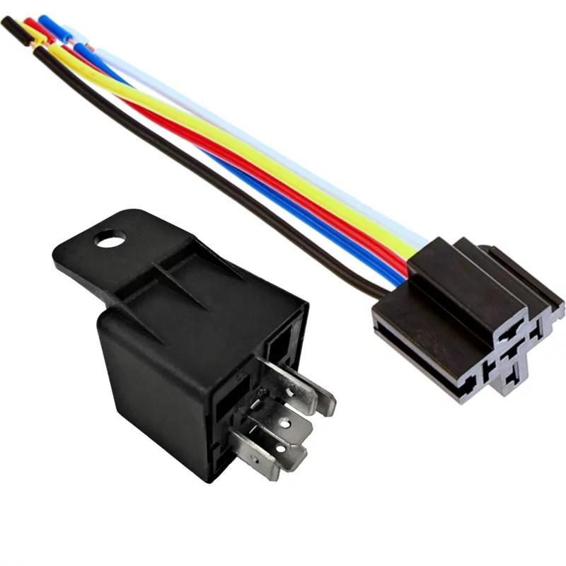 Wiring Diagram A 12 Volt Automotive Relay