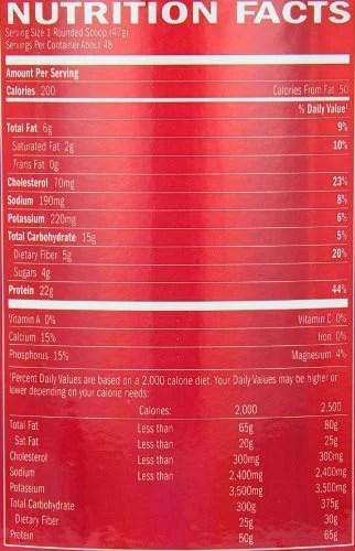 Syntha 6 Nutrition Facts : syntha, nutrition, facts, SYNTHA-6, Protein, Powder, Vanilla, Cream,, Servings), Walmart.com