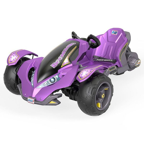Power Wheels Kids Electric 12 Volt Mini Atv Boomerang Ride