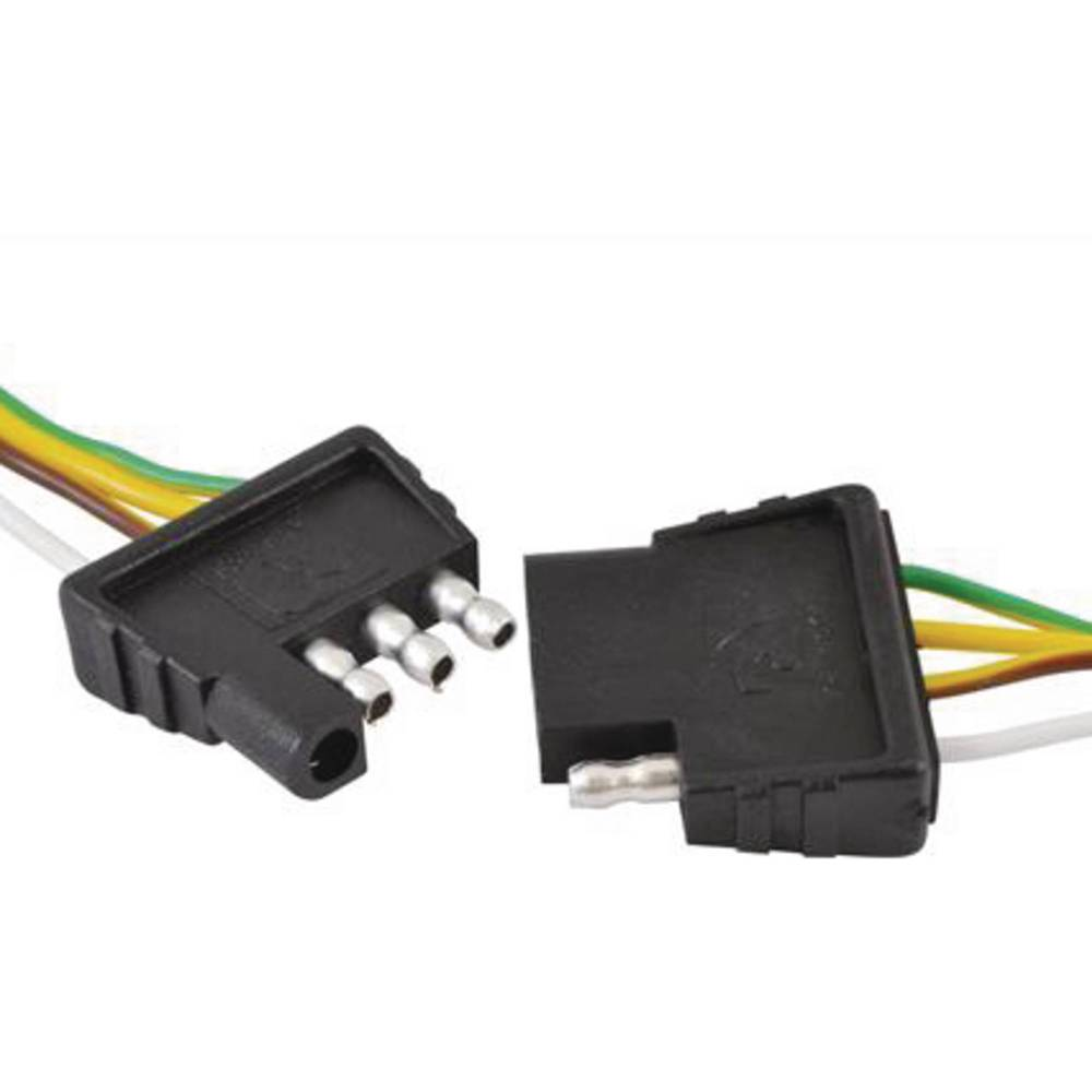 medium resolution of attwood wiring harness connector 4 way flat 18 plug and 48 socket walmart com