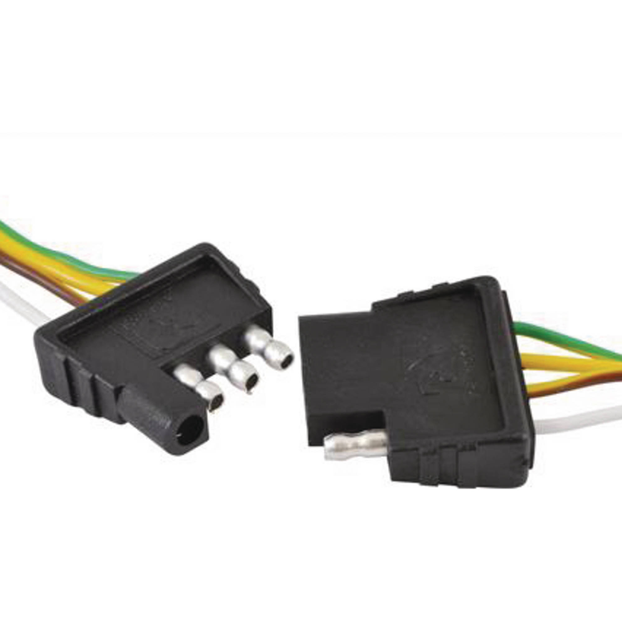 hight resolution of attwood wiring harness connector 4 way flat 18 plug and 48 socket walmart com
