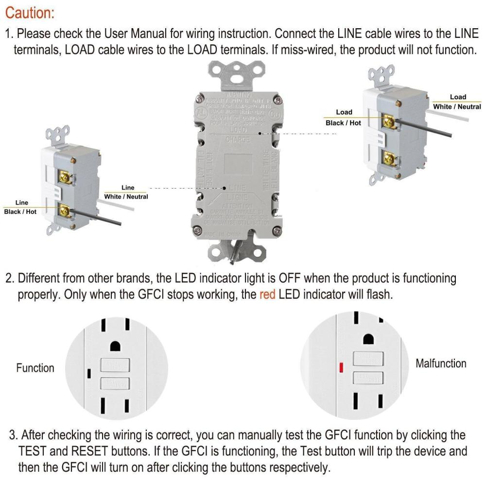 medium resolution of liveditor tamper resistant outlet tr receptacle 15a wall plate 2 usb port charger