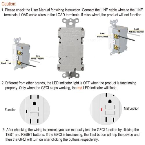 small resolution of liveditor tamper resistant outlet tr receptacle 15a wall plate 2 usb port charger