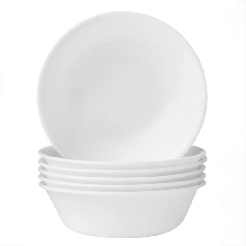 Corelle Classic Winter Frost White 18-oz Soup Bowl, Set of 6
