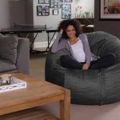 Sofa Sack Reviews Table Behind Called Memory Foam Bean Bag Chair 5 Ft Walmart Com