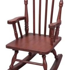 Children Rocking Chairs Vitra Ergonomic Chair Kids Walmart Com Product Image Colonial Style Wood W Cherry Finish