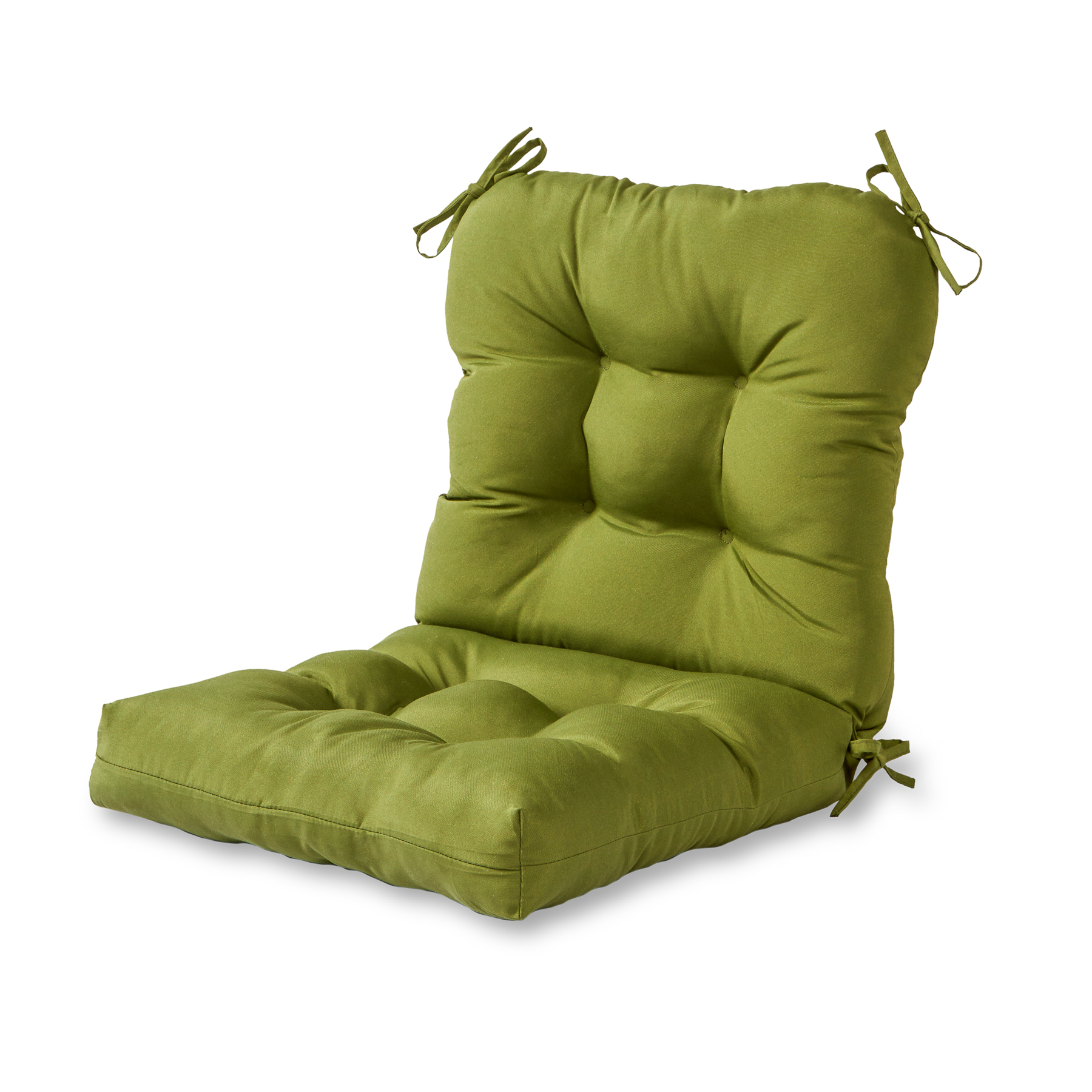 greendale home fashions solid outdoor chair cushion