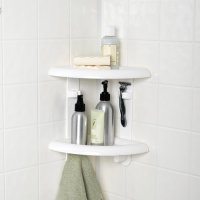 Mainstays 2 Shelf Corner Shower Caddy
