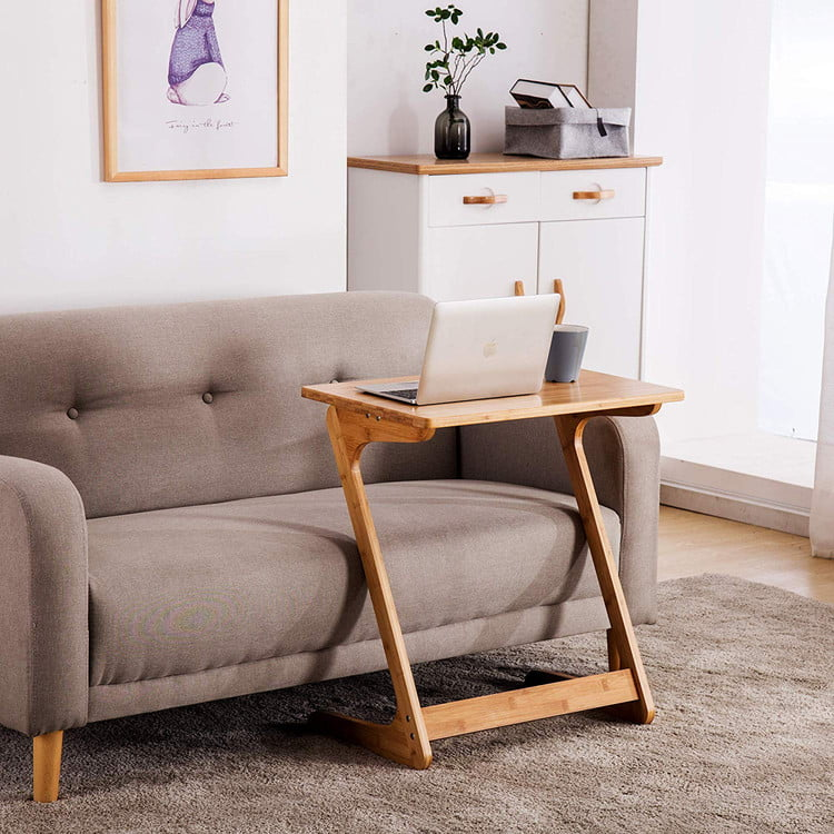 z shaped end table