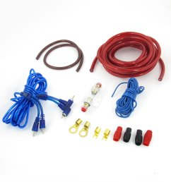 auto car 2000w rca to rca audio cable amplifier speaker wiring kit image 1 of zoomed image [ 1100 x 1100 Pixel ]