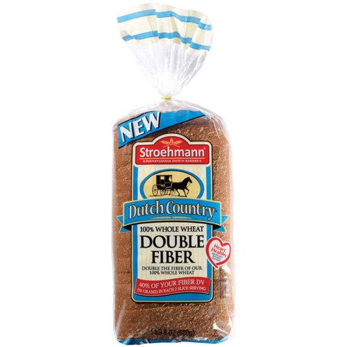 Stroehmann Dutch Country 100 Whole Wheat Double Fiber