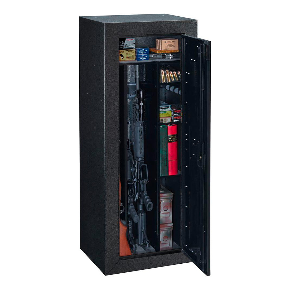 StackOn Products 16Gun Tactical Security Cabinet Black  eBay