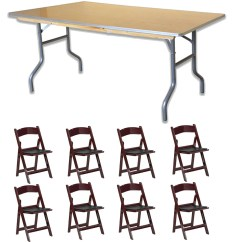 Walmart Resin Chairs Godrej Revolving Chair Catalogue Pogo 96 Rectangle Wood Banquet Folding Table And 8x Solid Com