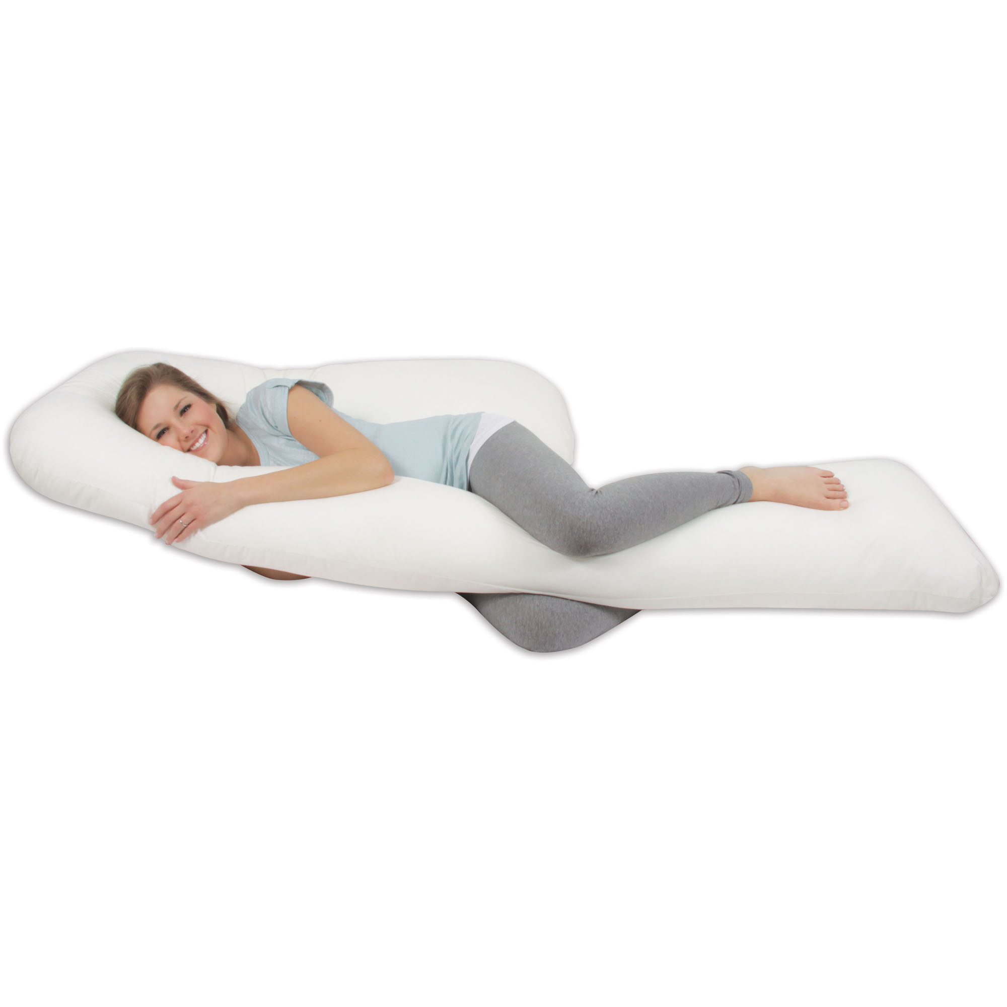 pregnancy pillow for office chair classroom rocking u shaped body walmart