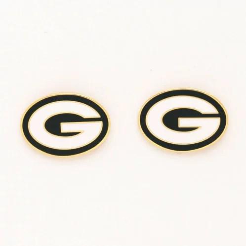 NFL Green Bay Packers Post Earrings