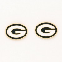NFL Green Bay Packers Post Earrings