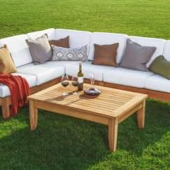 Sofa Mart Sectional Cindy Crawford Denim Wholesaleteak Outdoor Patio Grade-a Teak Wood Atnas 5 ...