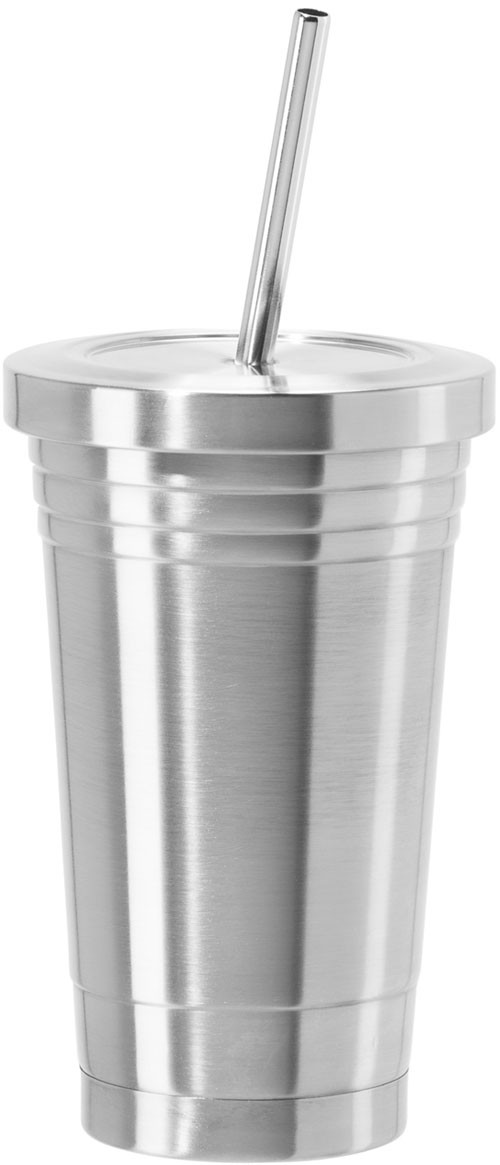 Oggi Stainless Steel Double Wall Tumbler with Stainless