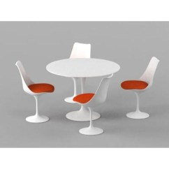 Tulip Table And Chairs Chair Covers Sashes For Hire Modholic Eero Saarinen Style 35 5 4 Departments