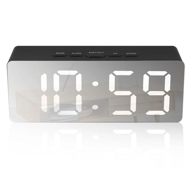 Eeekit Modern Digital Alarm Clock Large