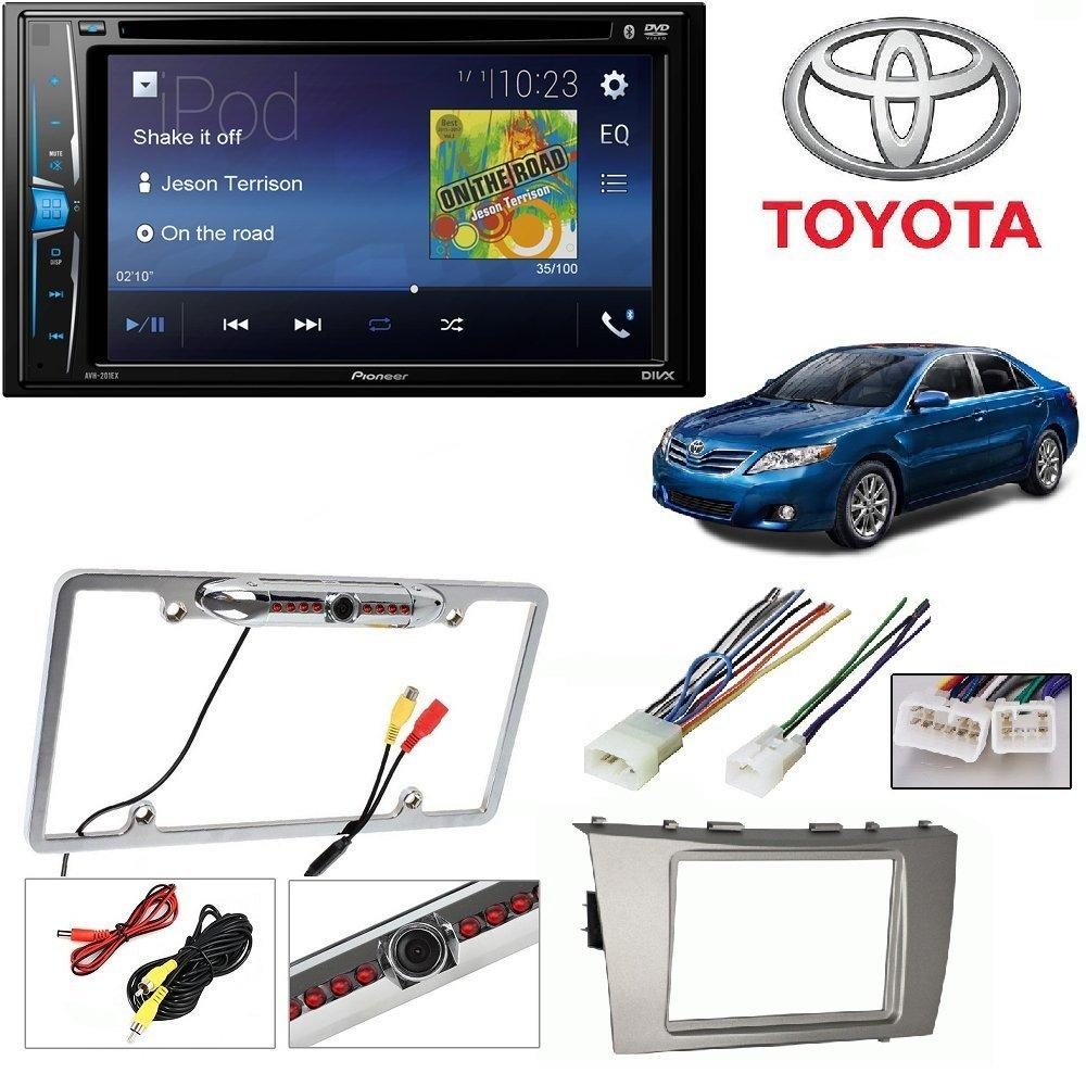 small resolution of pioneer avh 200ex 2 din 6 2 dvd cd iphone android bluetooth universal ford wiring harness iphone ford wiring harness kits