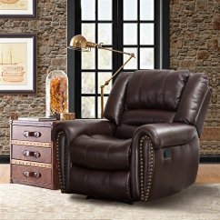 Pop Up Recliner Chairs Ikea Linen Chair Covers Canmov Breathable Bonded Leather Classic And Departments