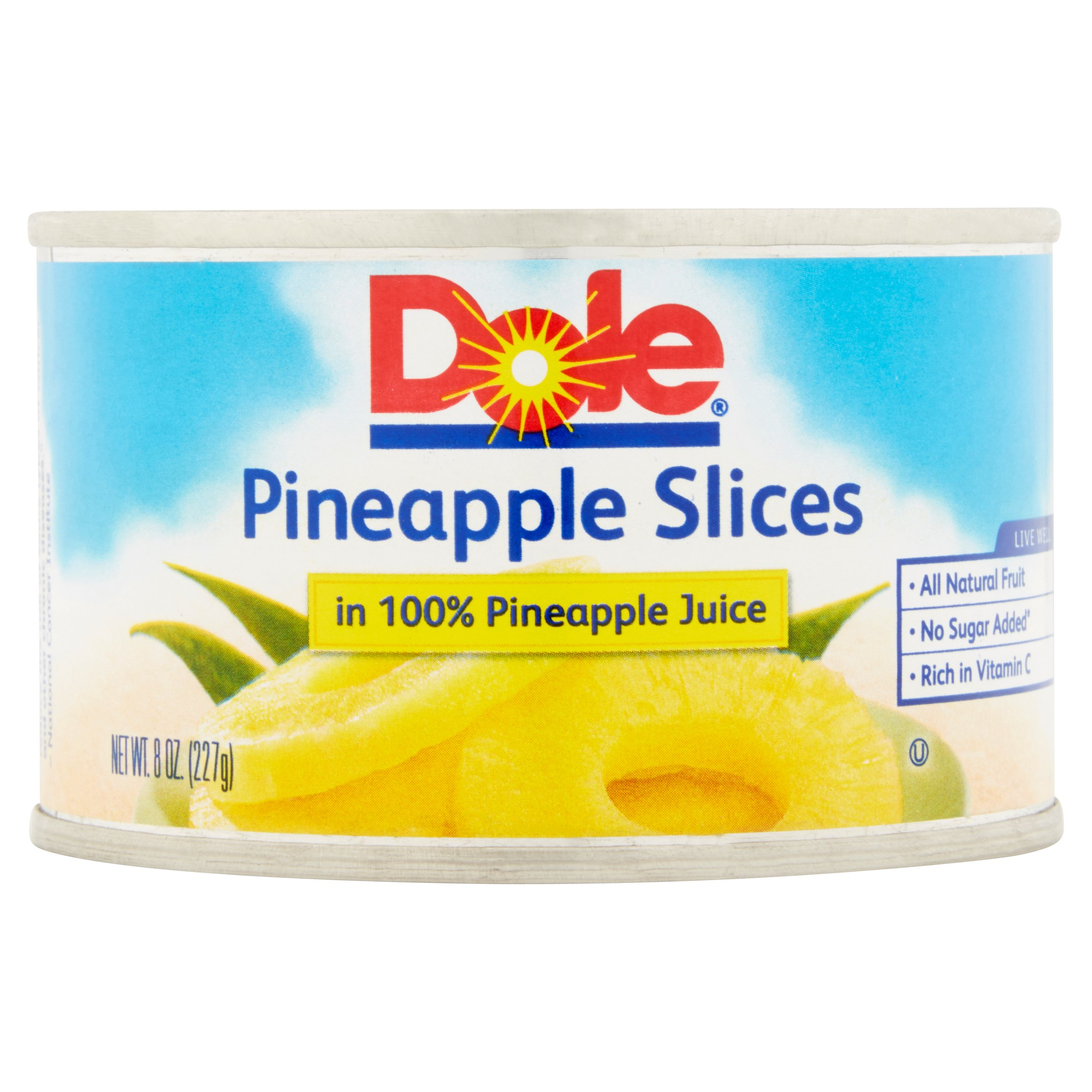 038900001391 UPC Dole Canned Fruit Pineapple Slices In