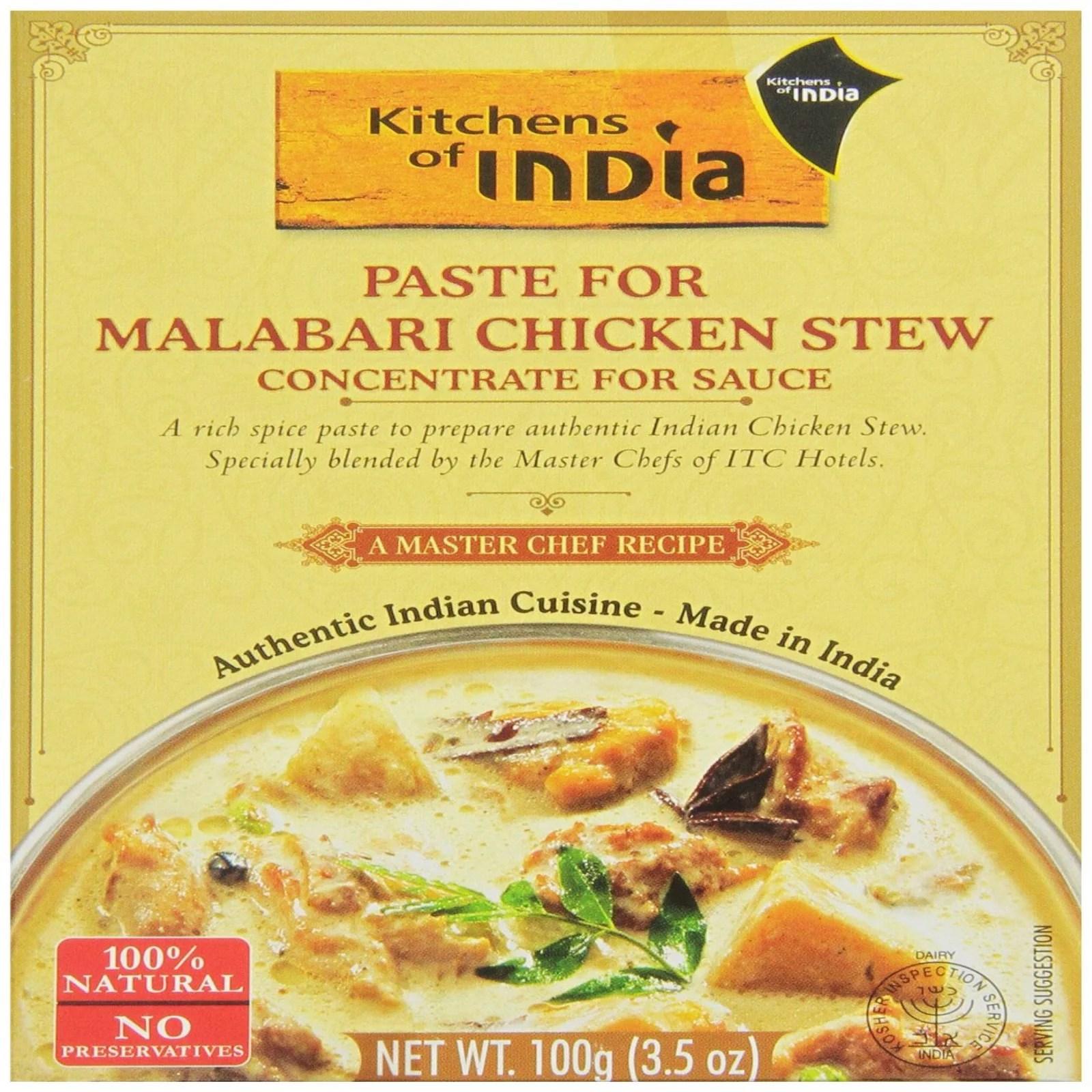 kitchens of india ikea kitchen plates paste for malabari chicken stew 3 5 oz pack 6 walmart com