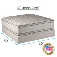 "Comfort Double Sided Pillowtop Queen Size (60""x80""x12"