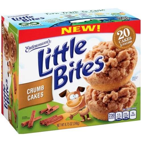 Entenmann39s Little Bites Crumb Cakes 5 count 875 oz