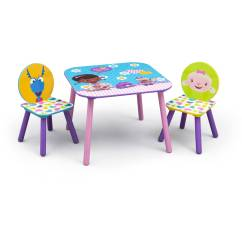 Doc Mcstuffins Erasable Activity Table And Chair Set Blue Embassy High Roselawnlutheran
