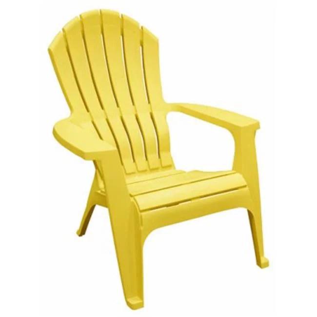 realcomfort 8371 19 3700 realcomfort adirondack chair ergonomic resin yellow quantity 24