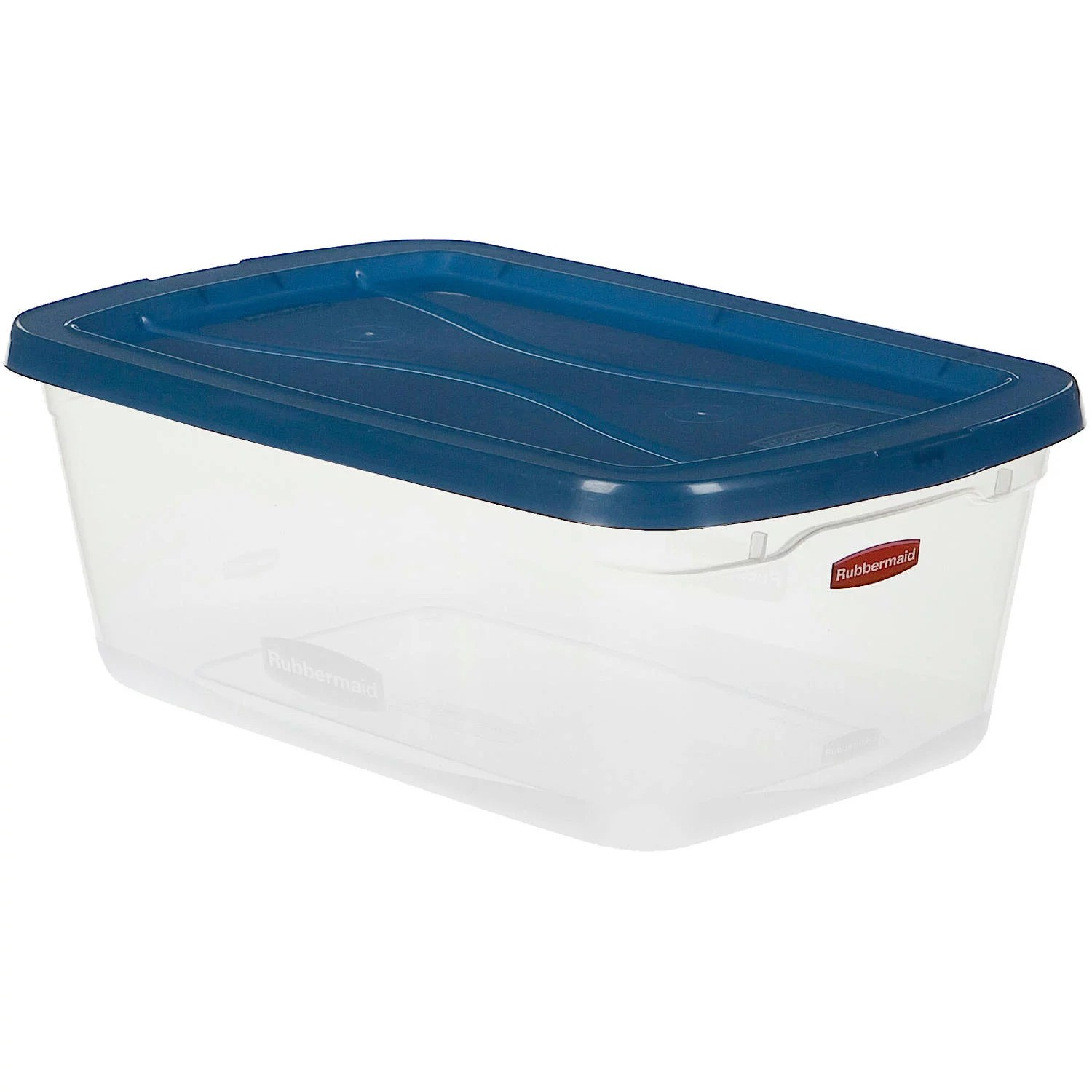 Best Kitchen Gallery: Rubbermaid Clever Store Clears Storage Container 6 5 Qt 10 Pack of Plastic Storage Containers By Size on rachelxblog.com