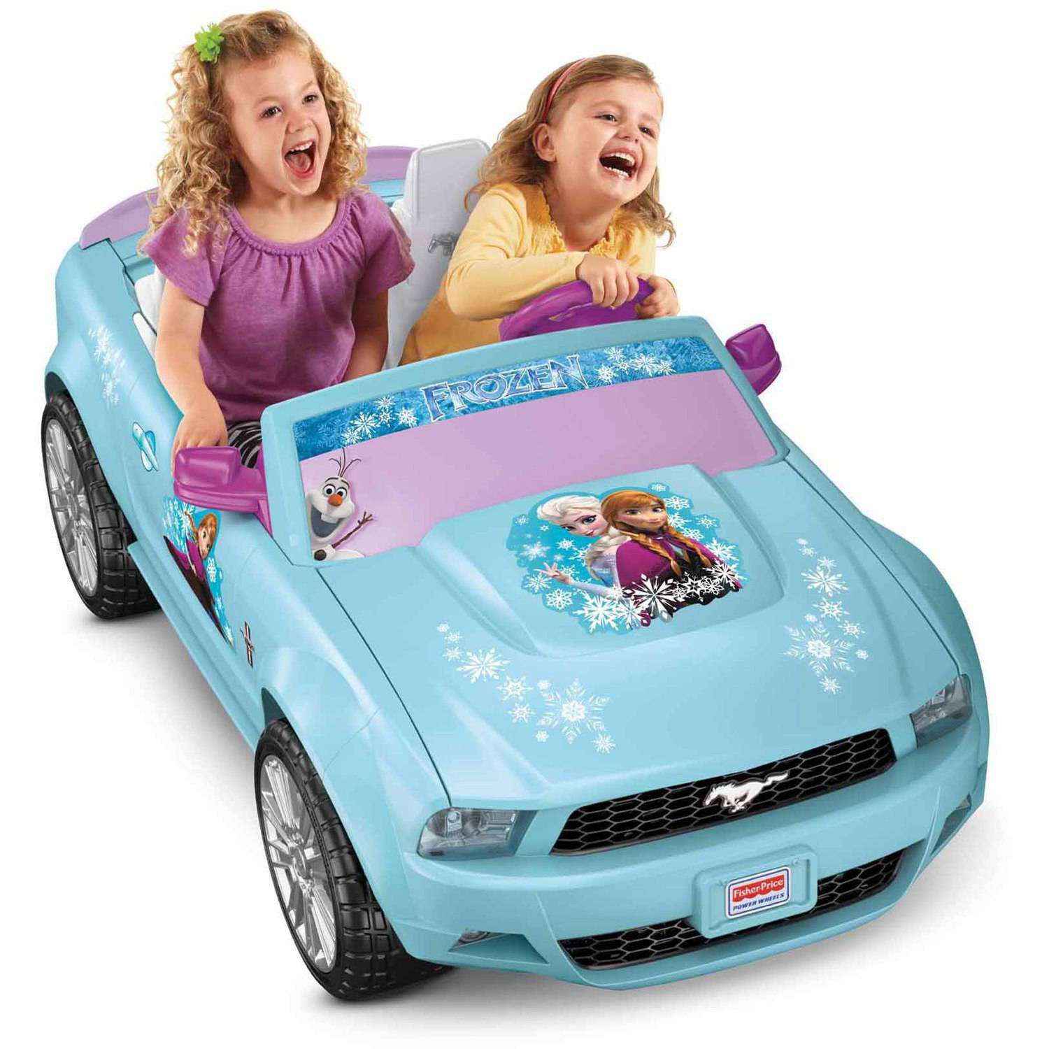 Fisher Price Power Wheels Disney Frozen Ford Mustang 12