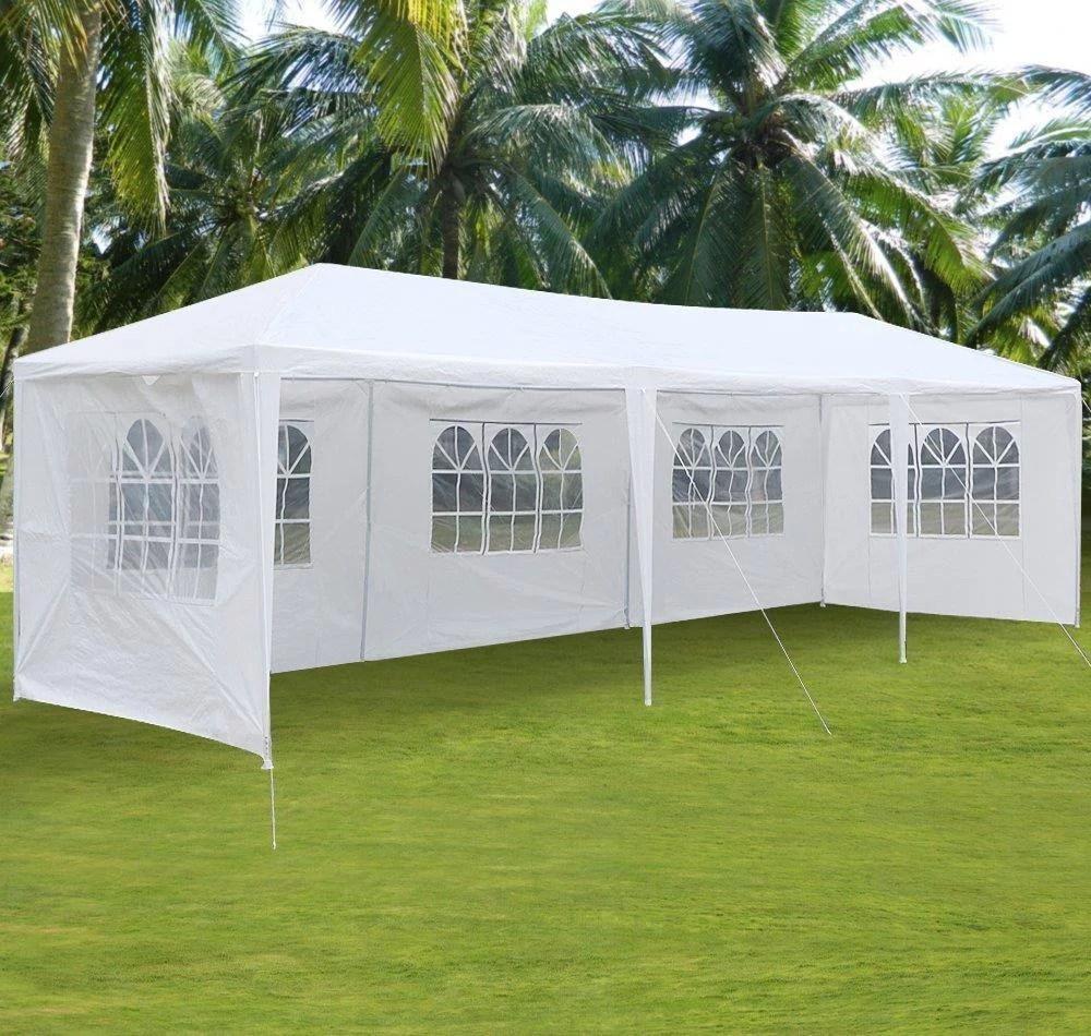 ktaxon 10 x30 party wedding outdoor patio tent canopy heavy duty gazebo pavilion event with 5 wall
