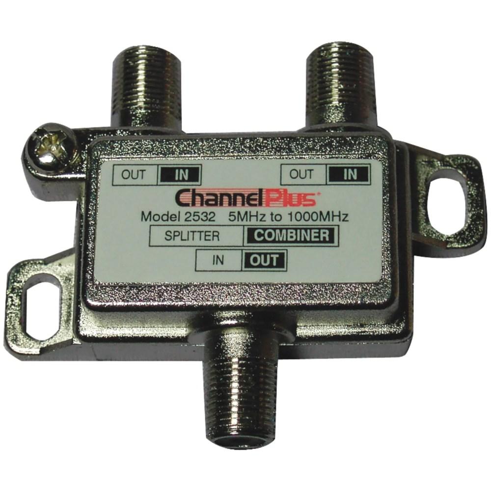 medium resolution of cable tv splitter wiring diagram